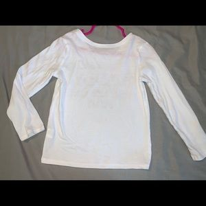 Toddler Girls Glitter Shirt